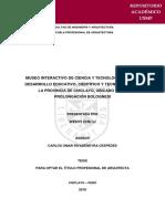 MUSEO INTERACTIVO DE CIENCIA Y TECNOLOGÍA PARA EL DESARROLLO EDUCATIVO CIENTIFICO Y TECNOLOGICO.pdf