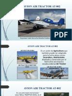 AVION AIR TRACTOR AT-802 EXPOSICION