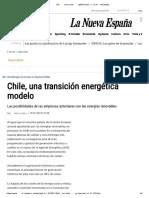 Chile, una transición energética modelo - La Nueva España.pdf