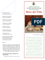 Rezo del Niño 2013 - Año de la Fe - Arquidiócesis de San José
