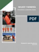 Mujer y Mineria. Elizabeth Ayala Rivadeneira (2012)