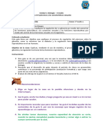Biología segundo medio  Guía  6 El páncrea y las características sexuales