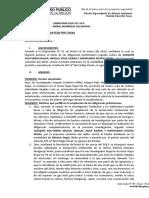 DISP AMPL DE DILIGENCIAS PREL.