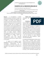 Revisión Bibliografica de La IgM
