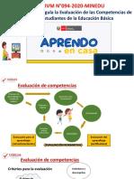 PPT EVALUACIÓN Y RETROALIMENTACIÓN AGEBRE UGEL 04-8-6-2020.pdf