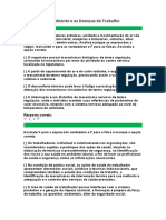 O Ambiente e as Doenças do Trabalho.docx