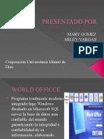 DIAPOSITIVAS WORLD OFFICE