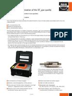 DILO 3-038-R SF6 Multi-Analyser