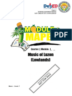 ModEL-Music7-Q1-W1-Music of Luzon (Lowlands)-Minette DG. Rosario