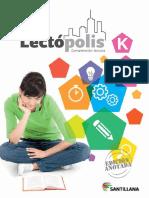 Libro Lectopolis K, maestros