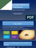 FARMACOLOGIA MALARIA
