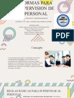 5-Normas para supervision Personal-LyE