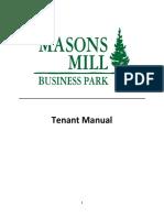 Tenant+Manual