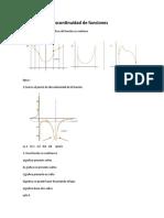 Continuidad y discontinuidad de funciones (1)