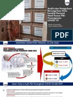 (Materi All Kelas BPKP) Paparan Audit PBJ Kondisi Darurat Webinar APIP 2020