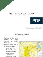 PROYECTO AZULCOCHA