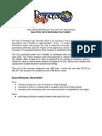 Electric Rates Public Report