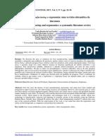 Lean Manufacturing e ergonomia - revisão sistematica da literatura
