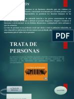 TRATA DE PERSONAS DIAPOSITIVAS 2019