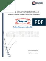 TIG MICROECONOMIA II CAROZZI Y PASTAS CANDEAL