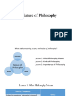 Chapter 1; The Nature of Philosophy