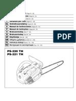 Dolmar PS-220 TH, PS-221 TH Chainsaw-rus