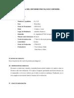 INJFORME PSICOLOGICO DE BENDER