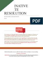 ALTERNATIVE DISPUTE RESOLUTION 2020-20200224110943