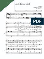 AUF, FREUE DICH  SA & keyboard  Bach[1]