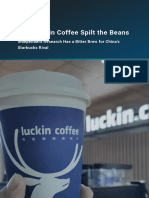 Smartkarma Research How Luckin Coffee Spilt the Beans