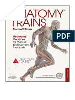 [2014] Anatomy Trains by Thomas W. Myers   Myofascial Meridians for Manual and Movement Therapists   Churchill Livingstone