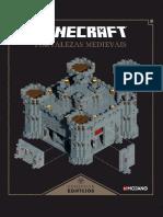 Livro Minecraft fortaleza medieval