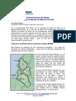 Desmovilizacion Del Bloque Heroes de Montes de Maria de Las Auc