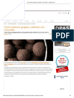 Cómo elaborar grageas cubiertas con chocolate __ pasteleria.com