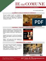 Notizie Dal Comune di Borgomanero del 25-07-2020