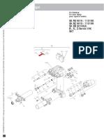 3 434 3807 00 Bremsbelag-Haltebügel_Brake pad retaining clip_Support de plaquette de frein