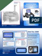Awareness Technology StatFax 3300