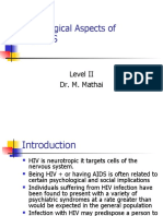 Psychological Aspects of HIV