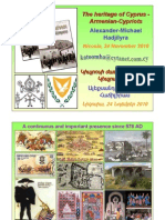 The Heritage of Cyprus - Armenian-Cypriots (presentation)