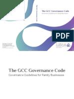 GCC Governance code - Handbook - english