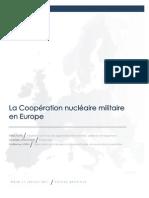 Coopération Nucléaire Militaire en Europe / exposé