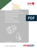 Austauschsatz Ruecksteller - Replacement of Reset Shaft Complete - Kit de réparation Reculer
