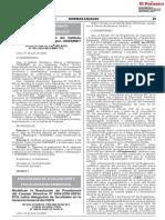 RESOLUCION N° 00026-2020-OEFA/PCD