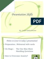 Presentation Skills CFS