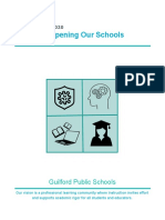 Guilford Public Schools Reopening Plan for the 2020-2021 School Year
