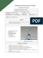Informe 6 Péndulo físico