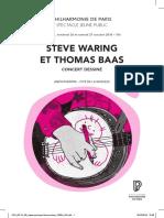 Steve Waring et Thomas Baas