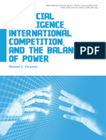 Horowitz (2018) - Artificial Intelligence, International Competition, and the Balance of Power