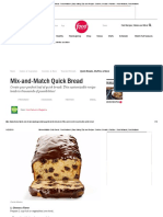 Mix-and-Match Quick Bread