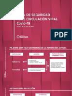 Presentación Plan de Seguridad Ante Circulación Viral  Covid-19